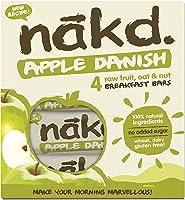 Nakd Apple Danish Bar, 30 g, Pack of 3