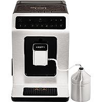 Krups Macchina per caffè Evidence One Touch Cappuccino, OLED pannello di controllo con touch screen, 2.1 L, Metallo