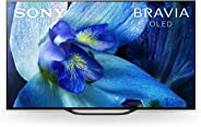 Sony OLED 55 Inch 4K Ultra HD Android Smart TV with HDR ,KD-55A8G -(2019) Black