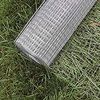 Wiltec Maschendraht Drahtgitter Volierendraht Stahl verzinkt 1mx10m 0,75mm Drahtstärke 19x19mm Maschenmaße