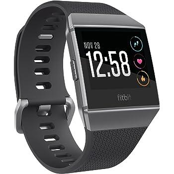 Fitbit Ionic Health & Fitness Smartwatch Unisex, Nero e Grigio Grafite, Taglia Unica