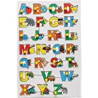 The Little boo Wooden Picture Educational Board for Kids, Learning Puzzle for Kids, Identification Tray for Children…