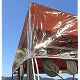 QUICK STAR Paviljoen beschermkap 3x3m waterdicht transparant