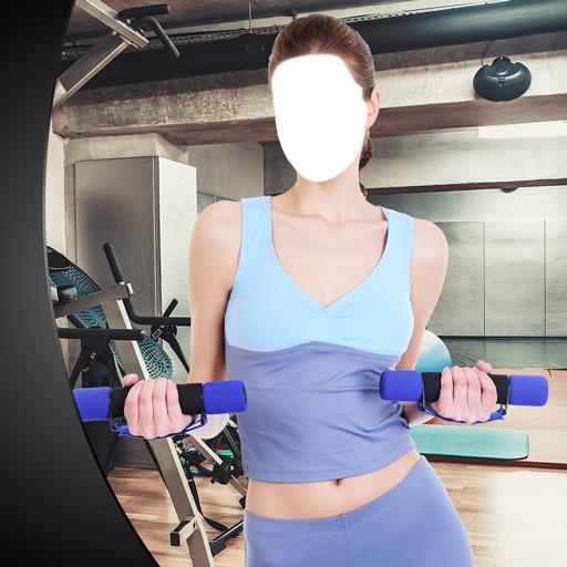 Fitness Mädchen Foto Montage (Strumpfhose-video)