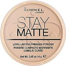 Rimmel London Stay Matte Pressed Powder - Silky Beige - 14gm