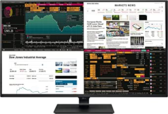 LG IT Products 43UD79-B 107,98 cm (42,51 Zoll) Monitor (IPS, 4K, 4x HDMI, 5ms Reaktionszeit) schwarz