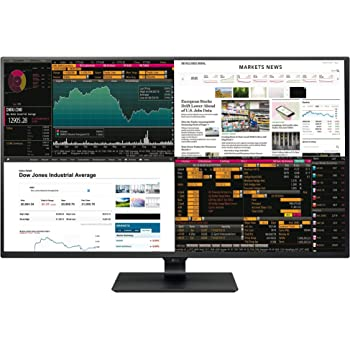 LG IT Products 43UD79-B 107,98 cm (42,51 Zoll) Monitor (IPS, 4K, 4x HDMI, 5ms Reaktionszeit) schwarz