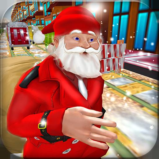 U-Bahn Surf Labyrinth Endless Running Adventure 3D: Santa Runner Spiele Kostenlos für Kinder 2018 (U-bahn-spiel-download)