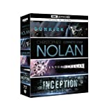 Nolan Collection (Dunkirk, Interstellar, Inception) (+ Blu-ray) [4K Blu-ray]