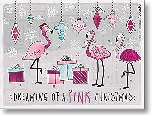 """Make-Up Adventskalender""""PINK FLAMINGO X-MAS"""" 2018, youstar, 24 hochwertige Produkte, Geschenkset-"""