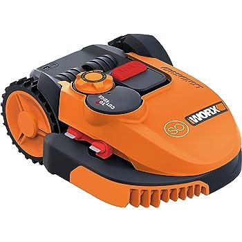 Worx Landroid Robot tondeur SO500i jusqu'à 500m² avec fonction sans fil WR105SI, 1pièce, orange