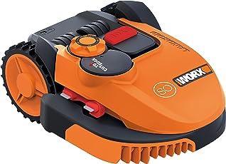 Worx Landroid SO500i Mähroboter – Automatischer Rasenmäher für bis zu 500 qm mit WLAN-Verknüpfung (App-Steuerung) und verstellbarer Schnitthöhe – 54,2 x 40,1 x 23,6 cm (L x B x H)