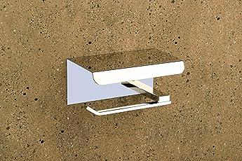 Aryan Toilet Paper Roll Holder for Bathroom (High Grade 304 Stainless Steel) – Crystal Series