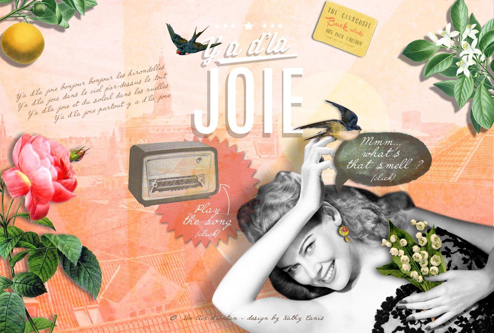 Un Air d'Antan Crema de Manos Joie con Manteca de Karite y Aloe Vera, Perfume Original Lirio de los Valles, Azahar – Formula Hidratante y Reparadora – Para Mujer, Idea Regalo, Pack 2x25ml, Cumpleaños