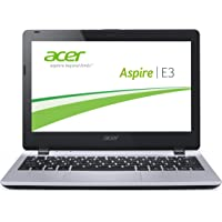 Acer Aspire E3-111-C45G 29,5 cm (11,6 Zoll) Laptop (Intel Quad Core N2930, 2,17GHz, 2GB RAM, 500GB HDD, Intel HD Graphics, Win 8.1) silber