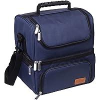 Sable Sac Isotherme 22L Lunch Bag, Sac de Pique-nique Avec 2 Principaux Spacieux Compartiments, Sac de Repas Glacière…