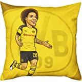 Borussia Dortmund BVB Kissen Jadon Sancho (40x40cm) one Size