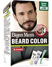 Bigen Men's Beard Color, Brownish Black B102, 40g