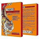 Set di 28 cerotti al balsamo di tigre per il dolore muscolare, rimedio cinese genuino, ideale per collo, schiena, collo, spal