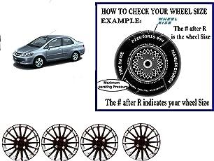 VAIBN- Superior Quality 14 inch Wheel Cover Wheel Cap Wheel HUB Cap Honda City ZX