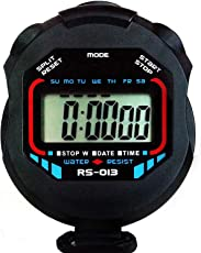 Quit-X® Spider Black - Digital Stopwatch Timer with Large Display