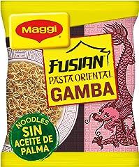 MAGGI FUSIAN Pasta Oriental Noodles Gamba, Fideos Orientales, 71g