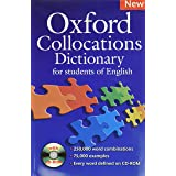 Oxford Collocation Dictionary: A corpus-based dictionary with CD-ROM which shows the most frequently used word combinations i