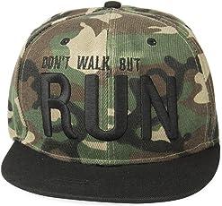 Noise Run in Military Snapback Cap