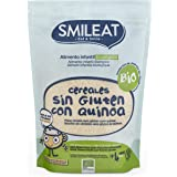 Smileat Papilla Ecológica Sin Glúten Con Quinoa (Pack 6 Unidades) 1200 g