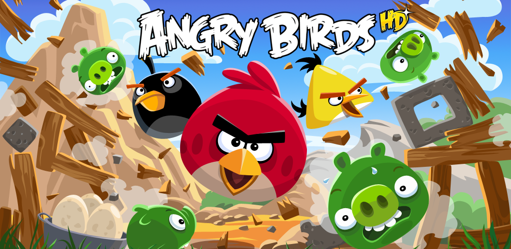 Image of Angry Birds HD (Fire Edition)