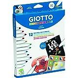 Giotto 453400, Fila Astuccio, 12 Colori, Multicolore