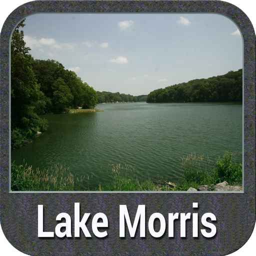 Lake Morris - IOWA Gps Map Lowrance-gps-software