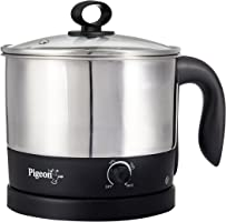Pigeon By Stovekraft Kessel 12173 1.2-Litre Multi-Purpose Kettle (Silver)