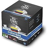 Der Franz, capsule caffè Colombia monorigine UTZ, compatibili Nespresso, 100% compostabili, 100 capsule