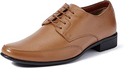Extacy By Red Chief EXT115 Men's Tan Formal Leather Shoes