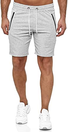 Kayhan Uomo Pantaloncini Sportivi Calcio Corti Bermuda Fitness Shorts Running Palestra Training Sportswear Pantaloni
