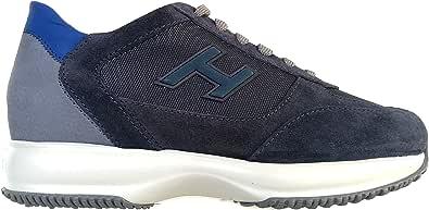 Hogan Scarpe Uomo Sneaker Interactive h Flock HXM00N0Q102N6Z50C3 Blu