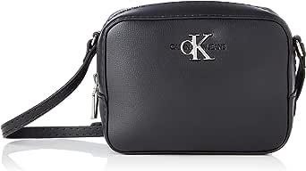 Calvin Klein Jeans Damen Camera Bag SM Kameratasche, Schwarz, 28 Inches, Extra-Large
