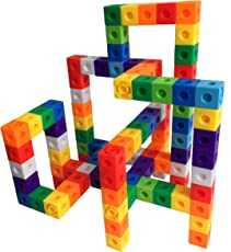Awesome Unlimited Creation Cubes 100 Piece Snap Cubes Mathlinks Cubes Unit Cubes Centimeter Cubes Math And Interlocking Building Set Kids Safe Material! Lab Test Approved With Atc Certificate!