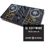 Numark Party Mix - Contrôleur DJ 2 Voies Plug-And-Play / Serato DJ Lite / Table de Mixage, Interface Audio / Carte Son Intégr