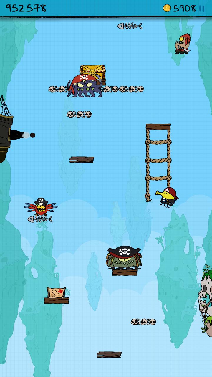 Doodle Jump Capture d'écran