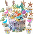 Cupcake Topper Set,adorno de pastel de bebe,Animal Cupcake Toppers,Cupcake Toppers Picks para niños cumpleaños,Animal Tema Pa