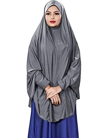 Girls Black Jilbab Abaya Lace And Peach Long Sleeves Kids Plain 3-4 Years UK