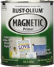 Rust-Oleum 247596 Specialty Magnetic Primer Paint (Black - 887 ML)