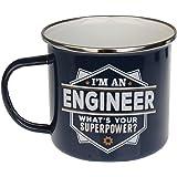 Enamel Personalised Mug (Engineer)