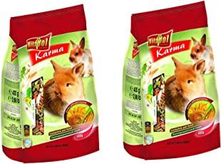 Vitapol Karma Food for Rabbits, 400g (Pack Of 2)