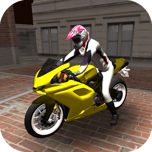 Motorcycle Stunts Cross on Car Road 3D Simulator 2015 (Speed Racing 3d For Need)