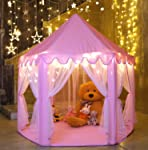 Durable Kids Playhouse for Indoor & Outdoor Games, Stimulate Pretend and Imaginative Play, Have Fun, Encourage Social...