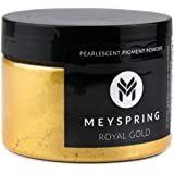 MEYSPRING Royal Gold Epoxy Resin Color Pigment - 50 Grams - Great for Art Resin, Ecopoxy, UV Resin
