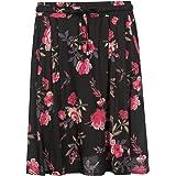 Vive Maria Victorian Rose Skirt Black Allover
